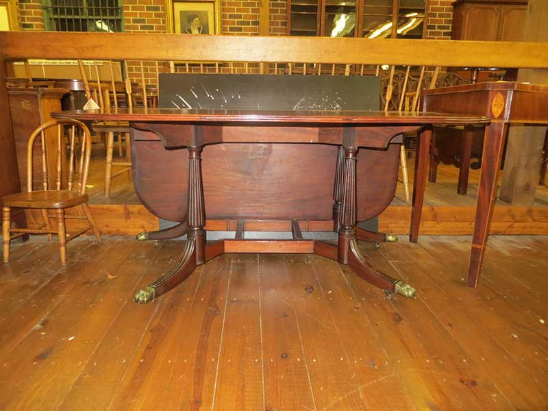 Duncan Phyfe Drop Leaf Table