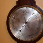 "10\"" Wheel Barometer"