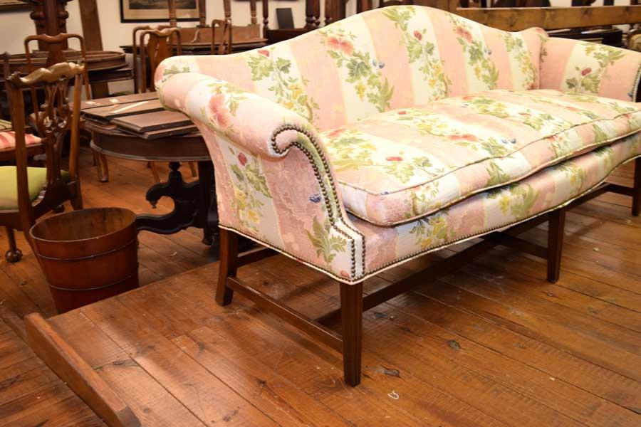 18th Century Camelback Sofa