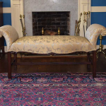 18th Century Upholstered Bench