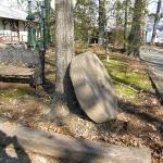 19th Century Grist Mill Stone