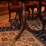 3 Pedestal Duncan Phyfe Dining Table 11-12-2019