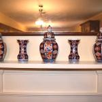 5 Piece Imari Garniture Set