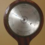 "8\"" Wheel Barometer"