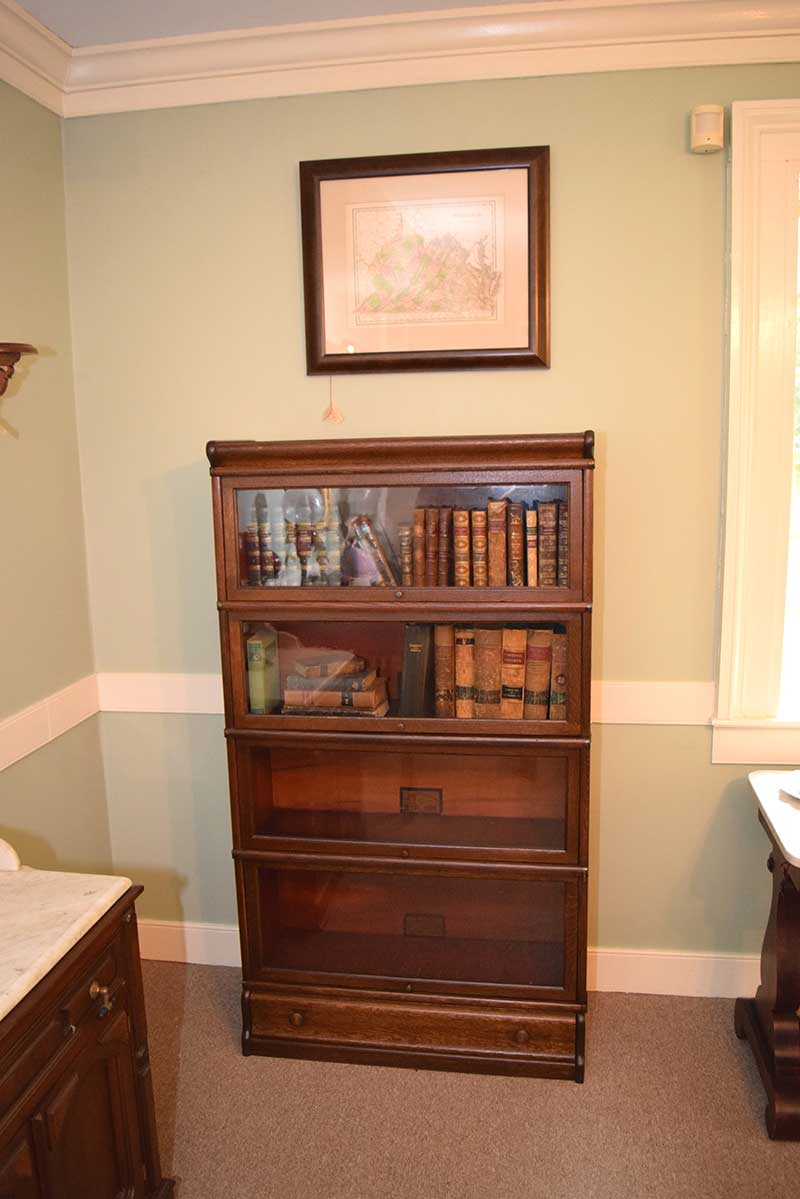 and gunn painted barrister portfolio bookcases sectional napoleonrockefeller collectables vintage furniture com bookcase