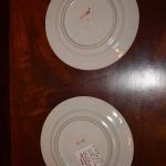 Pair of Fukagawa Plates