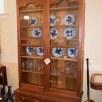 Solid Walnut Bookcase