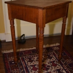Tiger Maple One Drawer End Table
