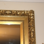 A Gold Leaf Mirror