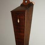 A Hanging Mahogany Candle Box