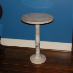 Alabaster Candle or Plant Stand