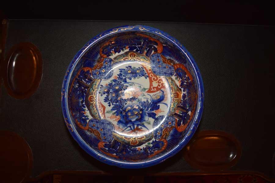 Bold Blue Imari Bowl