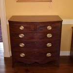 Bow Front Chest