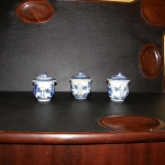 Canton Syllabub Cups with Lids
