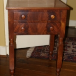 Cherry Two Drawer End Table