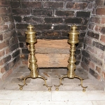 Chippendale Andirons