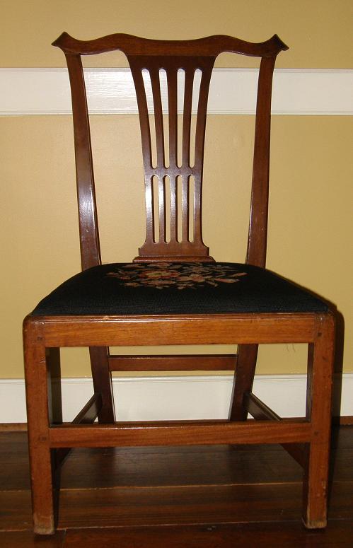 Chippendale chair (SOLD) - Chippendale Chair Gates Antiques Ltd. Richmond, VA