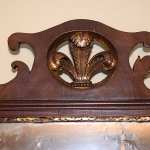 Chippendale Overmantle Mirror