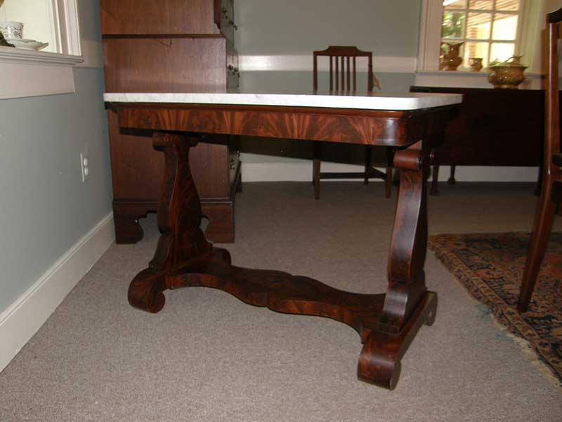 Empire Marble Top Center Table