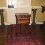 Empire Two Drawer End Table