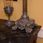 English Banquet Lamp