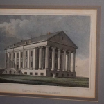 Engraving-The Capitol of Virginia