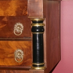 Federal 3 Drawer End Table