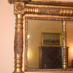 Federal Overmantle Mirror
