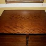 Figured Mahogany Drop Leaf Table