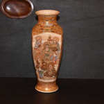 Four-sided Satsuma Vase