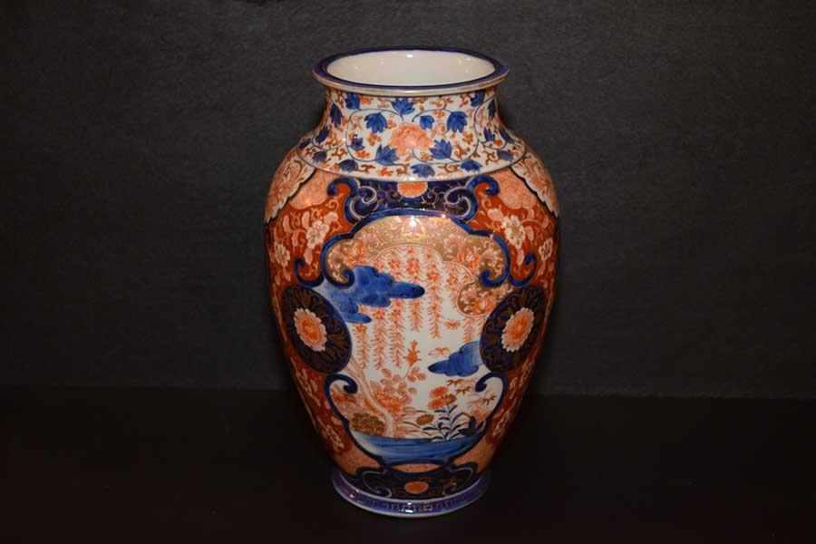 Fukagawa Imari Vase Gates Antiques Ltd Richmond Va