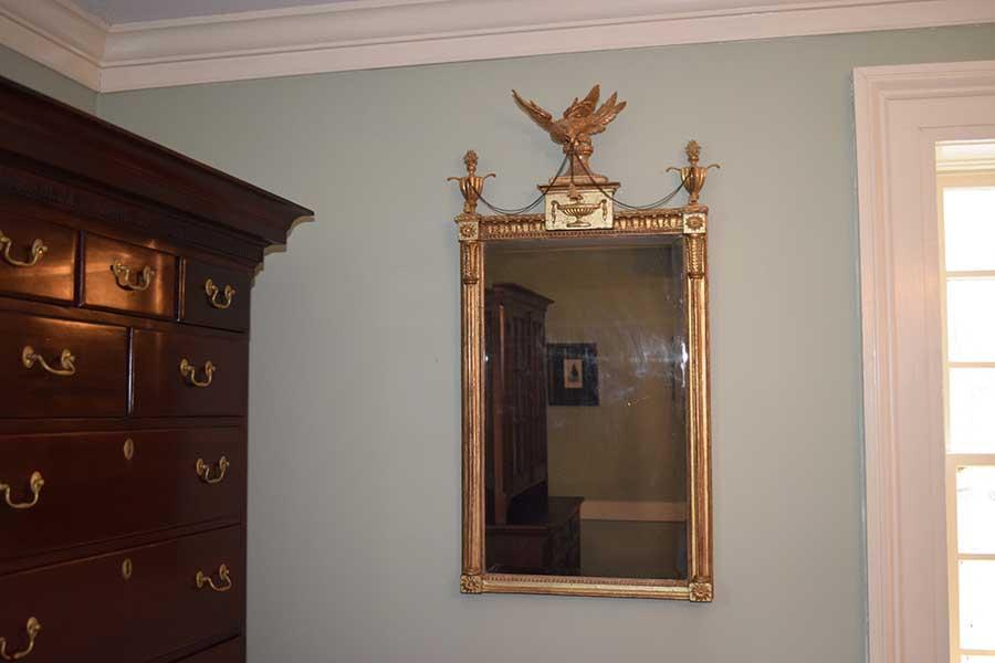 Gilded Hepplewhite Mirror