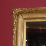 Golden Leaf Mirror, Circa 1860