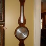 Inlaid Wheel Barometer