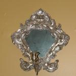 Italian Mirrored Wall Sconces