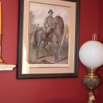 Lithograph-Robert E Lee
