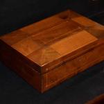 Mahogany and Maple Jewelry Box