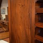 Mahogany Linen Press