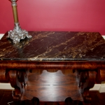 Mahogany Petticoat Table