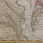 Map of Colonial VA & MD