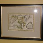 Map of VA & Chesapeake Bay