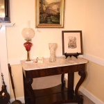 Marble Top Petticoat Table