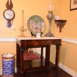 Marble Top Pier Table
