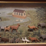 Noah\'s Ark diorama