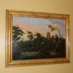Oil Canvas Romantic Landscape
