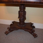 Ornate Federal Card Table