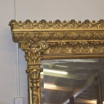 Ornate Gold Leaf Mirror