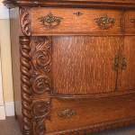 Ornate Oak Server