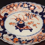 Oval, Ribbed, Scalloped Platter