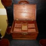 Oyster Shell Walnut Jewelry Box